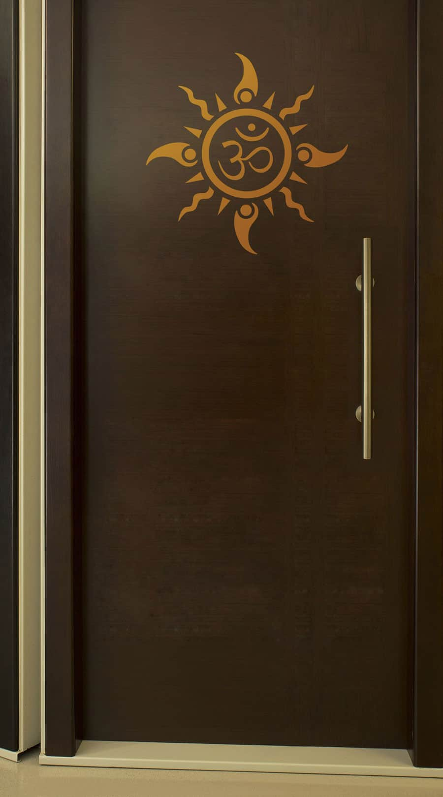 WDC01044 Om Sun Tattoo Copper M 2 room sticker
