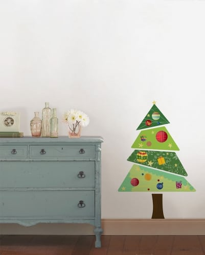 Ambiance Wall Stickers christmas wall stickers for a cheerful ambiance
