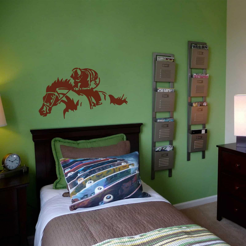 Jockey Racer Bedroom2 sticker
