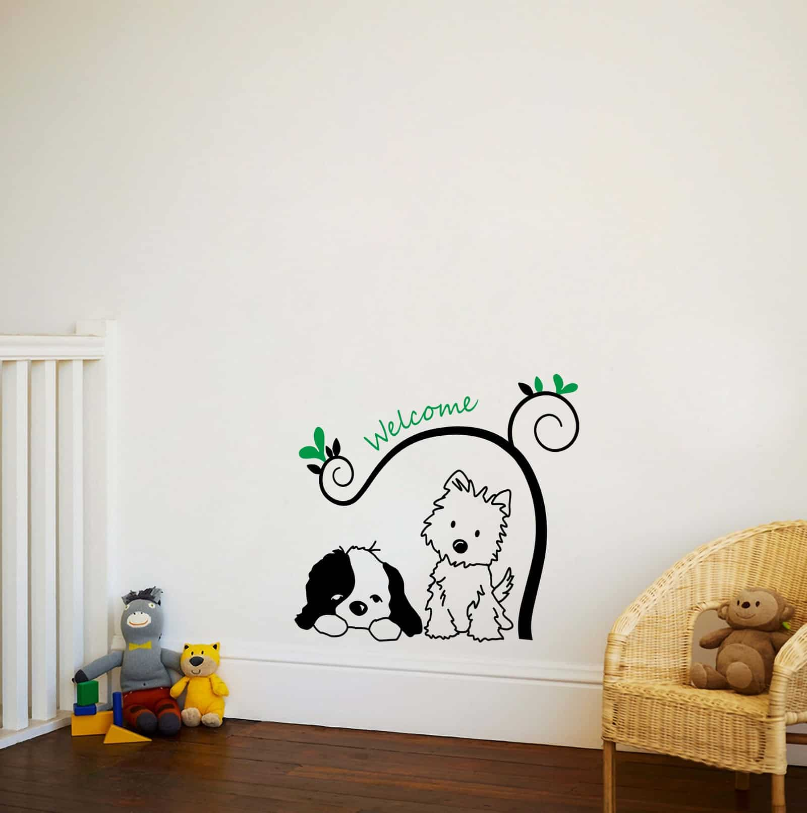My Doggy Friends Living room sticker