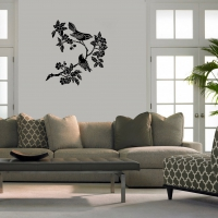 Asian bird 2 Living room decal