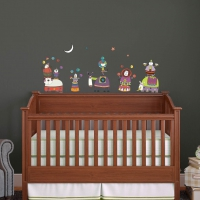 Welcome to the Circus Infant2 room sticker